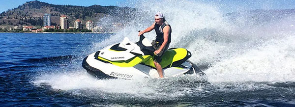 Sea-Doo Jet Ski Rentals at Wood Lake, Kalamalka Lake and